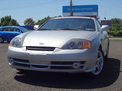 2003 Hyundai Tiburon for sale at US 1 Auto Mall Inc in Trevose PA