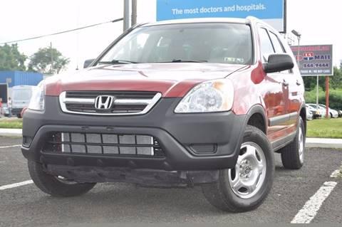 2002 Honda CR-V for sale at US 1 Auto Mall Inc in Trevose PA