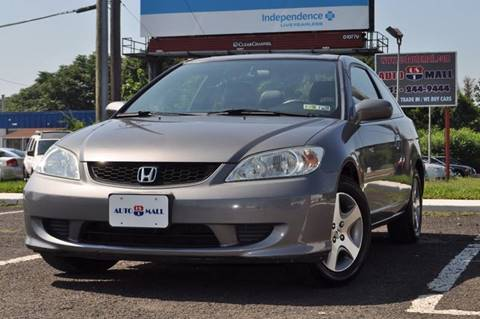2004 Honda Civic for sale at US 1 Auto Mall Inc in Trevose PA