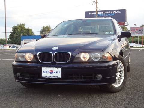 2003 BMW 5 Series for sale at US 1 Auto Mall Inc in Trevose PA