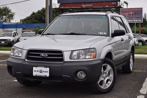 2004 Subaru Forester for sale at US 1 Auto Mall Inc in Trevose PA