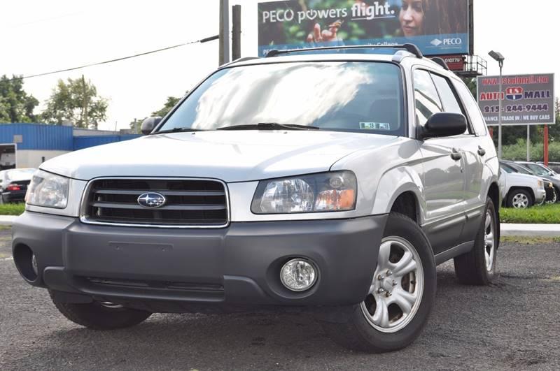 2003 Subaru Forester for sale at US 1 Auto Mall Inc in Trevose PA