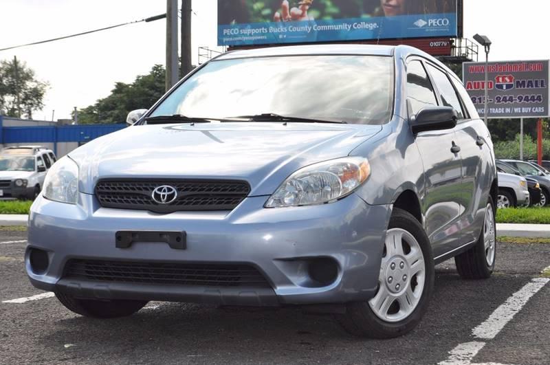 2005 Toyota Matrix for sale at US 1 Auto Mall Inc in Trevose PA
