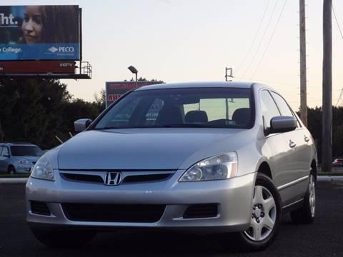 2007 Honda Accord for sale at US 1 Auto Mall Inc in Trevose PA