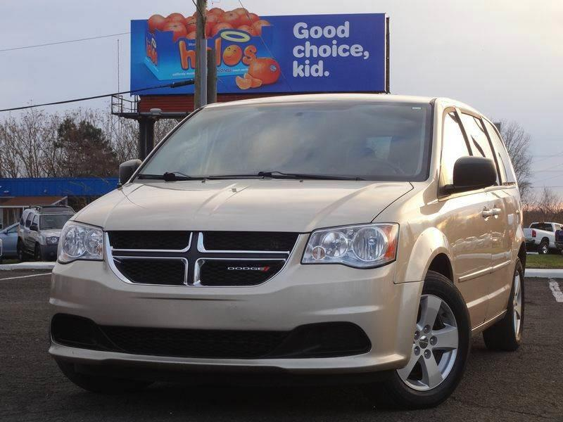 2013 Dodge Grand Caravan for sale at US 1 Auto Mall Inc in Trevose PA