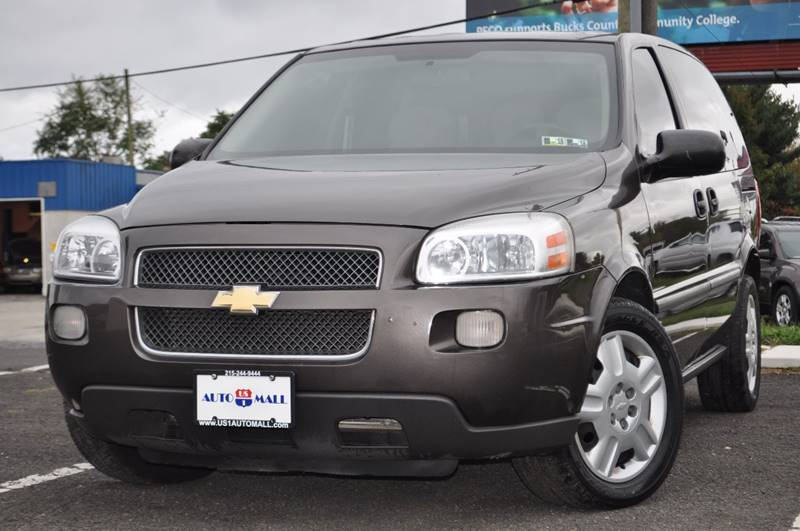 2008 Chevrolet Uplander for sale at US 1 Auto Mall Inc in Trevose PA
