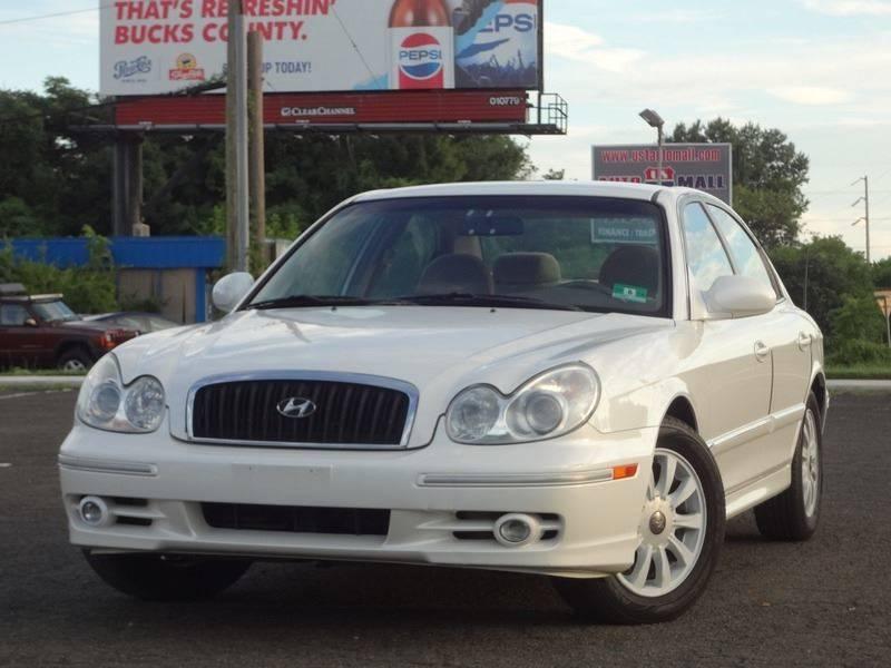 2003 Hyundai Sonata For Sale At US 1 Auto Mall Inc In Trevose PA