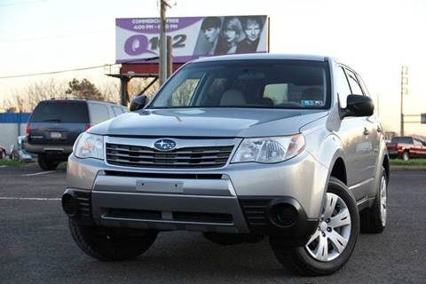 2010 Subaru Forester for sale at US 1 Auto Mall Inc in Trevose PA