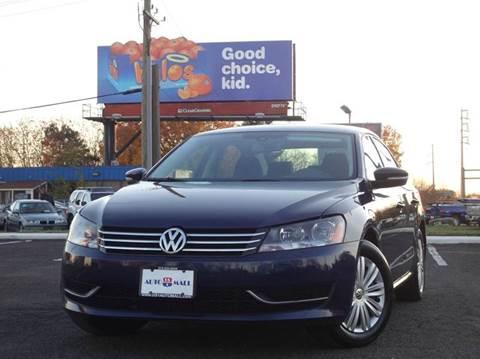 2014 Volkswagen Passat for sale at US 1 Auto Mall Inc in Trevose PA
