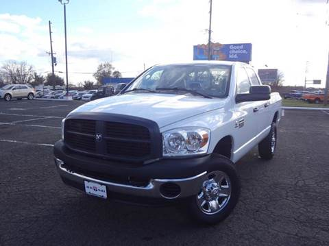 2007 Dodge Ram Pickup 2500 for sale at US 1 Auto Mall Inc in Trevose PA