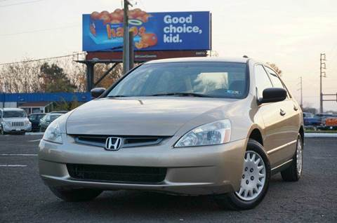 2003 Honda Accord for sale at US 1 Auto Mall Inc in Trevose PA