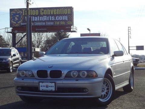 2002 BMW 5 Series for sale at US 1 Auto Mall Inc in Trevose PA