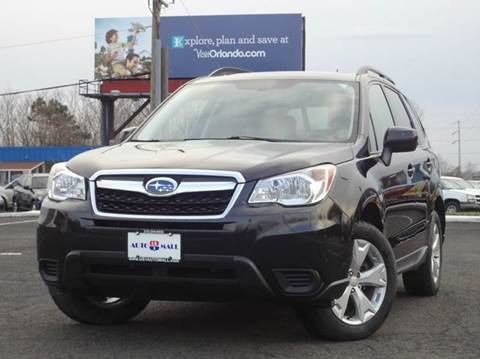 2015 Subaru Forester for sale at US 1 Auto Mall Inc in Trevose PA