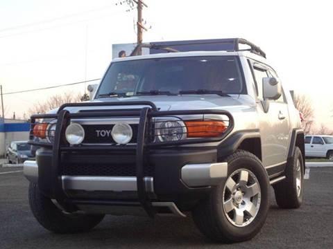 2007 Toyota FJ Cruiser for sale at US 1 Auto Mall Inc in Trevose PA