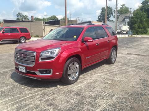 2013 GMC Acadia for sale in Rensselaer, IN