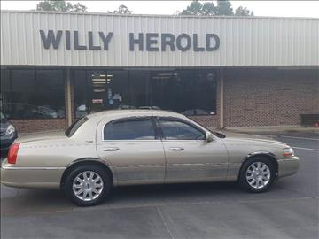 2009 Lincoln Town Car for sale in Columbus, GA