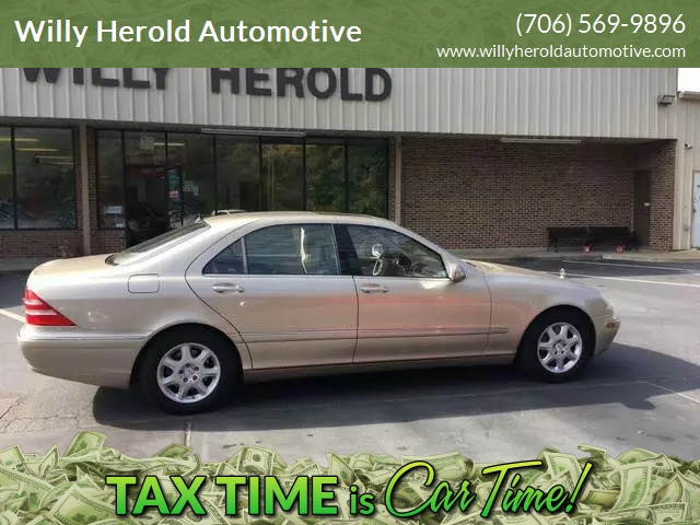 Mercedes Benz Columbus Ga >> 2002 Mercedes Benz S Class S 430 4dr Sedan In Columbus Ga