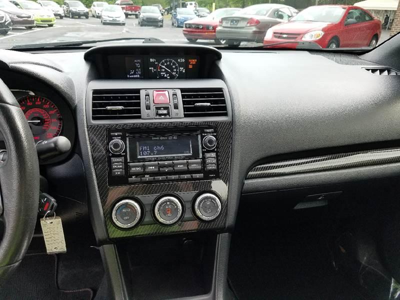 2015 Subaru WRX AWD 4dr Sedan - Columbus GA