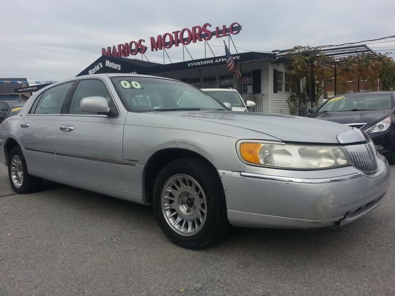 2000 Lincoln Town Car Cartier In Philadelphia Pa Marios Motors Llc