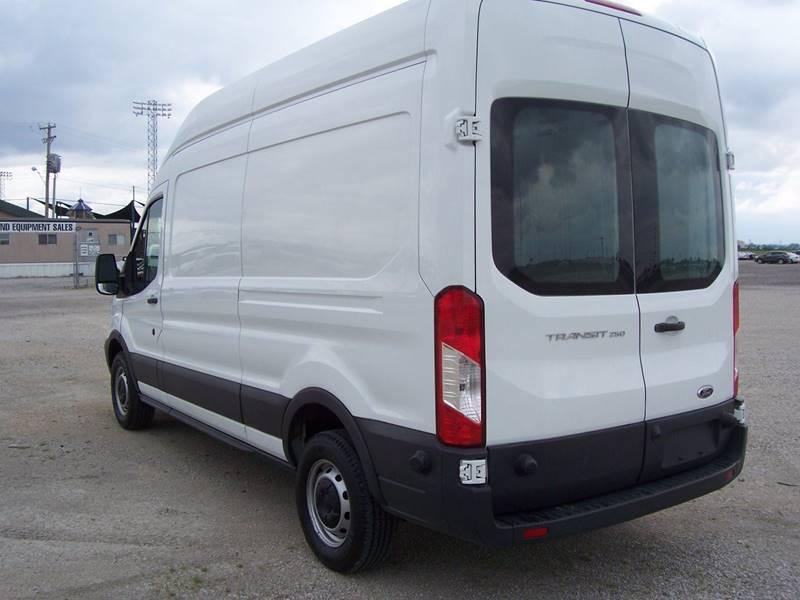2017 ford transit cargo 250 3dr lwb high roof cargo van w sliding passenger side door in sauget. Black Bedroom Furniture Sets. Home Design Ideas