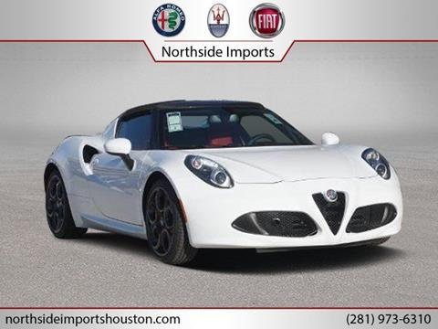 2019 Alfa Romeo 4C for sale in Spring, TX