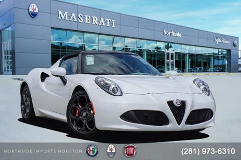 2019 Alfa Romeo 4C for sale in Spring, TX