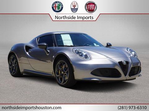 2015 Alfa Romeo 4C for sale in Spring, TX