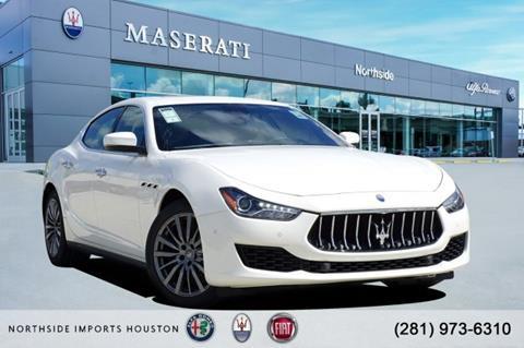 2019 Maserati Ghibli for sale in Spring, TX