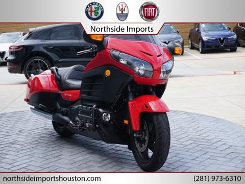 2013 Honda Goldwing for sale in Spring, TX