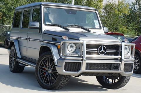 2013 Mercedes-Benz G-Class for sale in Spring, TX