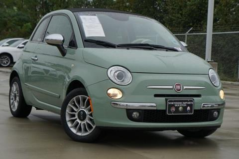 2013 FIAT 500c for sale in Spring, TX