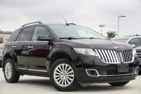 2013 Lincoln MKX for sale at Northside Alfa Romeo Fiat in Spring TX