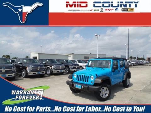 2017 Jeep Wrangler Unlimited for sale in Port Arthur, TX