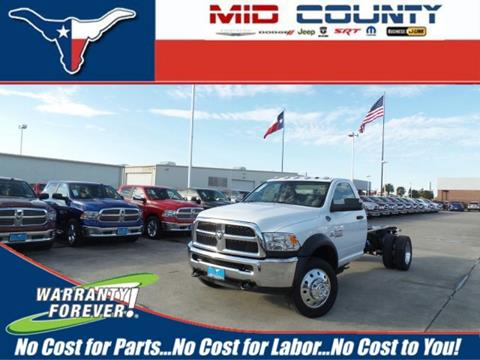 2017 RAM Ram Chassis 5500 for sale in Port Arthur, TX
