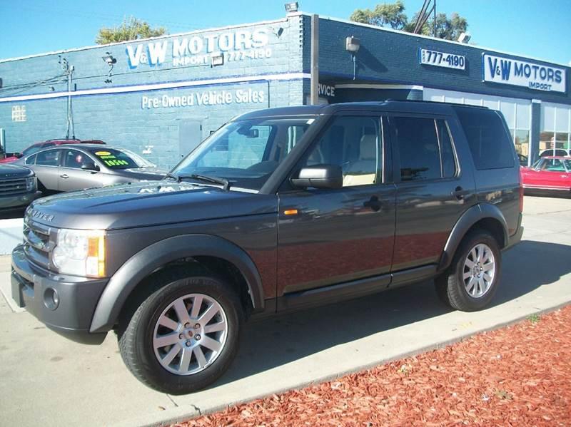2006 Land Rover Lr3 car for sale in Detroit