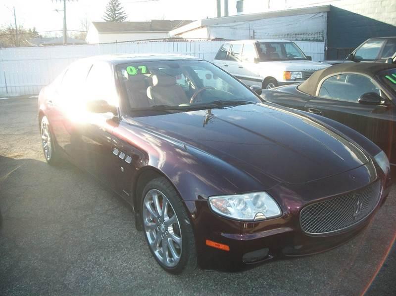 2007 Maserati Quattroporte car for sale in Detroit