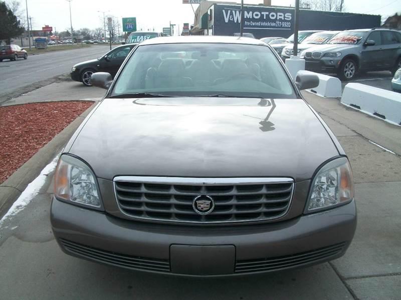2002 Cadillac Deville car for sale in Detroit
