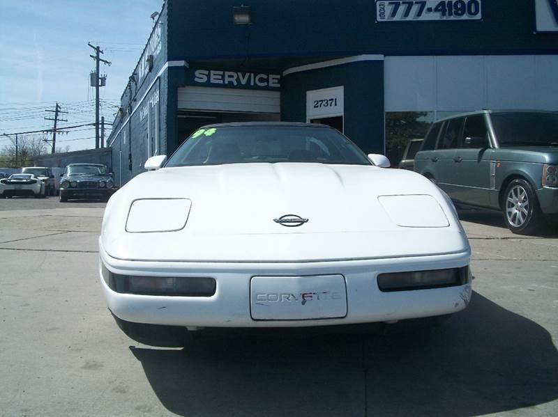 1994 Chevrolet Corvette car for sale in Detroit