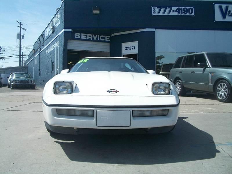 1985 Chevrolet Corvette car for sale in Detroit