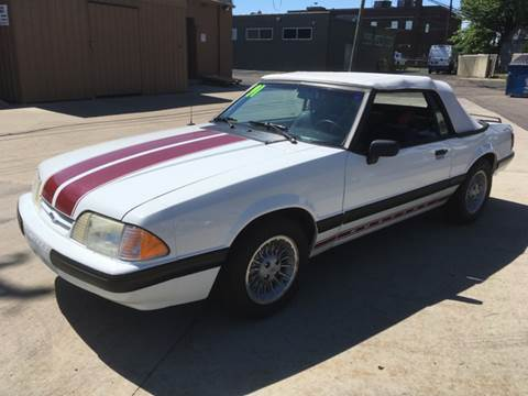 1991 Ford Mustang for sale in Roseville, MI