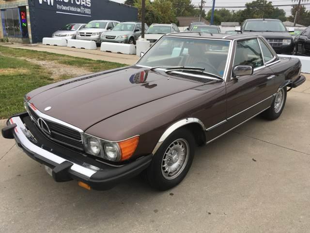 1982 Mercedes-Benz 380-class car for sale in Detroit