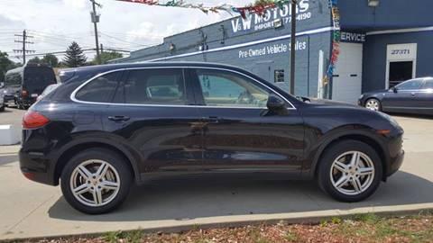 2011 Porsche Cayenne for sale in Roseville, MI