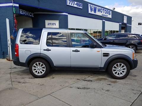 2007 Land Rover LR3 for sale in Roseville, MI