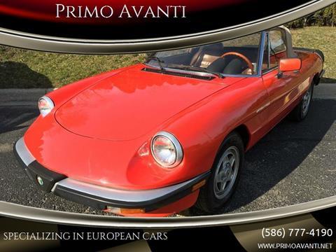 1984 Alfa Romeo Spider