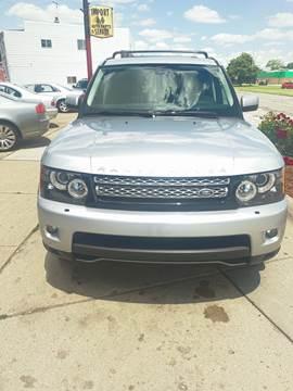 2012 Land Rover Range Rover Sport for sale in Roseville, MI