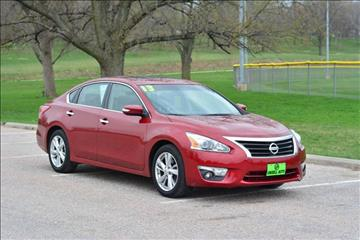 2013 Nissan Altima for sale at UNISELL AUTO in Omaha NE
