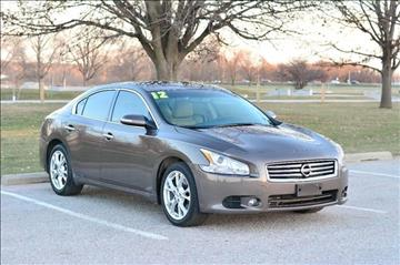 2012 Nissan Maxima for sale at UNISELL AUTO in Omaha NE