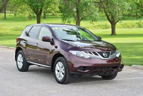 2014 Nissan Murano for sale at UNISELL AUTO in Omaha NE