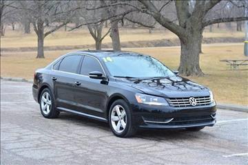 2014 Volkswagen Passat for sale at UNISELL AUTO in Omaha NE