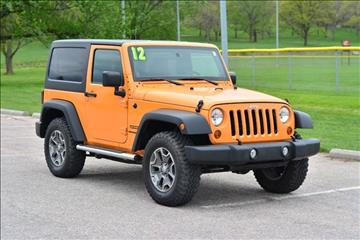 2012 Jeep Wrangler for sale at UNISELL AUTO in Omaha NE